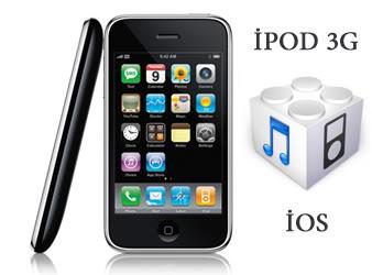 İpod Touch 3G için İos 4.3, 5.0 ve 6.0 Güncellemesi