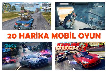 Mutlaka Oynamanız Gereken 20 Harika Mobil Oyun!