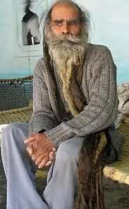 Kailash Kalau Singh İsimli Hintli, 35 Yıldır Hiç Yıkanmıyor