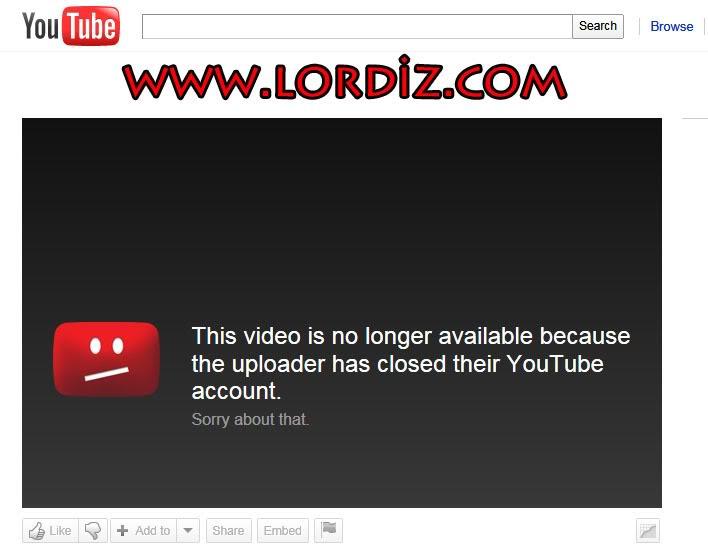 Youtube Hesap Gizleme (Hesap Dondurma) - internet-siteleri