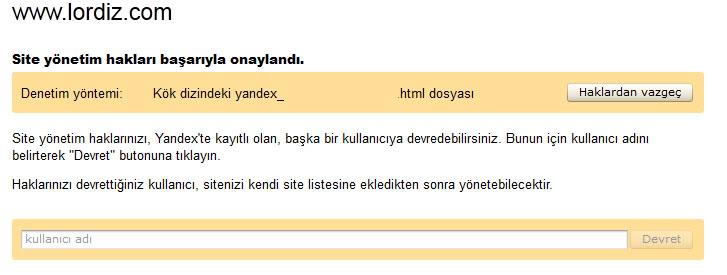 51447155 - Yandex Arama Motoruna Site Ekleme (Resimli Anlatım)
