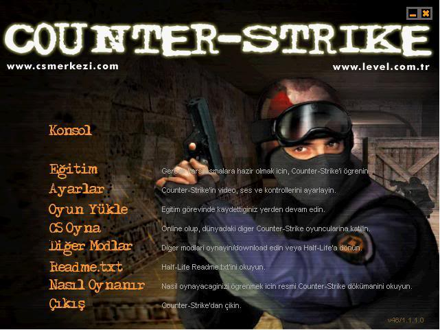 "Eski CS Oyunu ""Counter Strike 1.5"" – CS 1.5 Full İndir"
