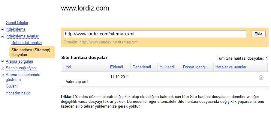 79876653 - Yandex Arama Motoruna Site Ekleme (Resimli Anlatım)