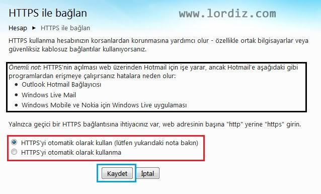 Outlook'da https:// Kullanımı ve Hesap Güvenliği - internet-siteleri