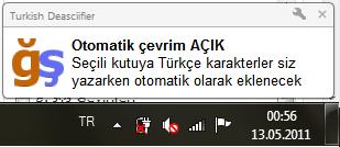"""Klavyesinde Türkçe Karakter Olmayanlar İçin """"Turkish Deasciifier"""" - windows-destek"""