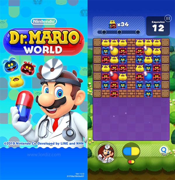 """DrMario World - Doktor Mario, Yeni Versiyonu """"Dr. Mario World"""" ile Mobil Platformlarda!"""