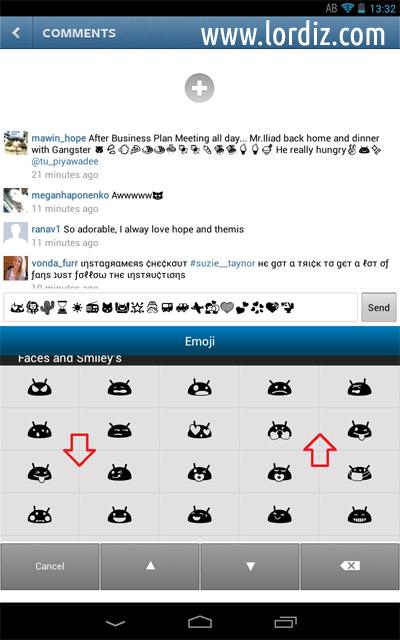 Emoji6 - Eski Android Sürümlerinde (Smiley) Emoji Kullanımı