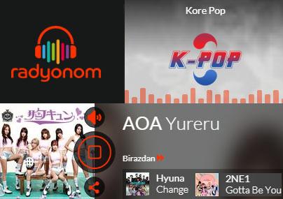 """Türkiye'nin Tek Kore Müzikleri Radyosu """"K-POP"""""""