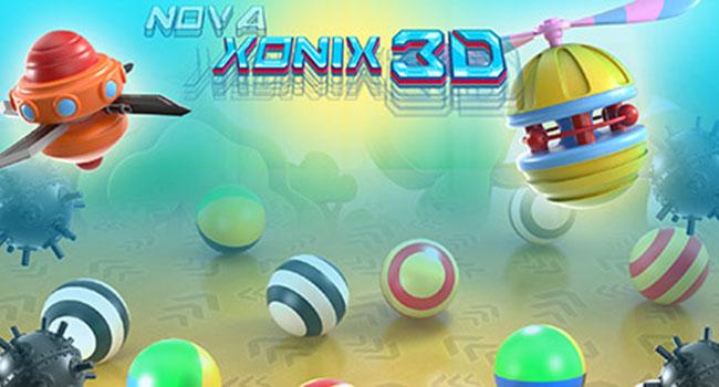 """Novaxonix3D - 1980'lerin Arcade Oyunu """"AirXonix"""", """"Xonix"""" Adıyla Geri Döndü!"""