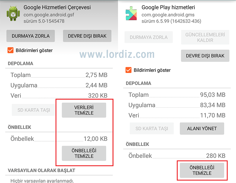 Google Play RPC:S-7:AEC-7 Hatası ve Çözümü - google-play