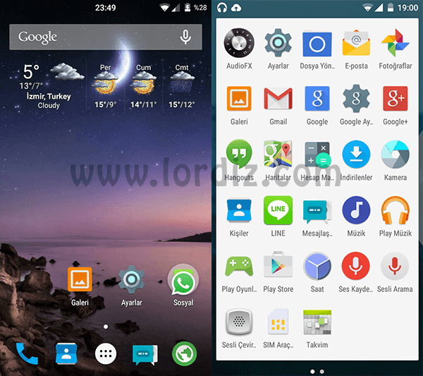 SG S3 Android5 1 zps21ed3f1c - Samsung Galaxy S3 İçin CyanogenMod 12 (Android L 5.0.2)