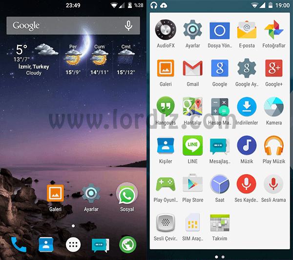 Samsung Galaxy S3 İçin CyanogenMod 12 (Android L 5.0.2) - google-play