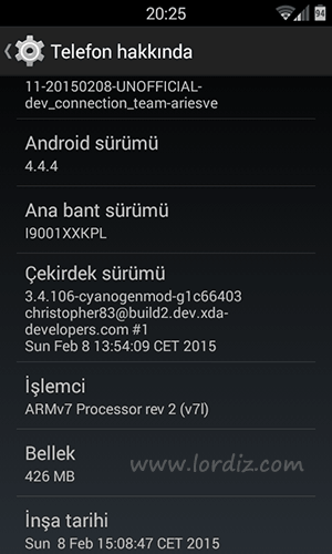 Samsung Galaxy S Plus i9001 İçin Android 4.4.4 (Release17) - google-play