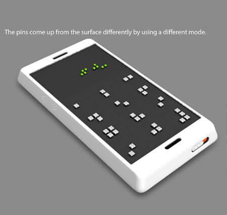 Seungan Song'dan Görme Engelliler İçin Telefon Projesi