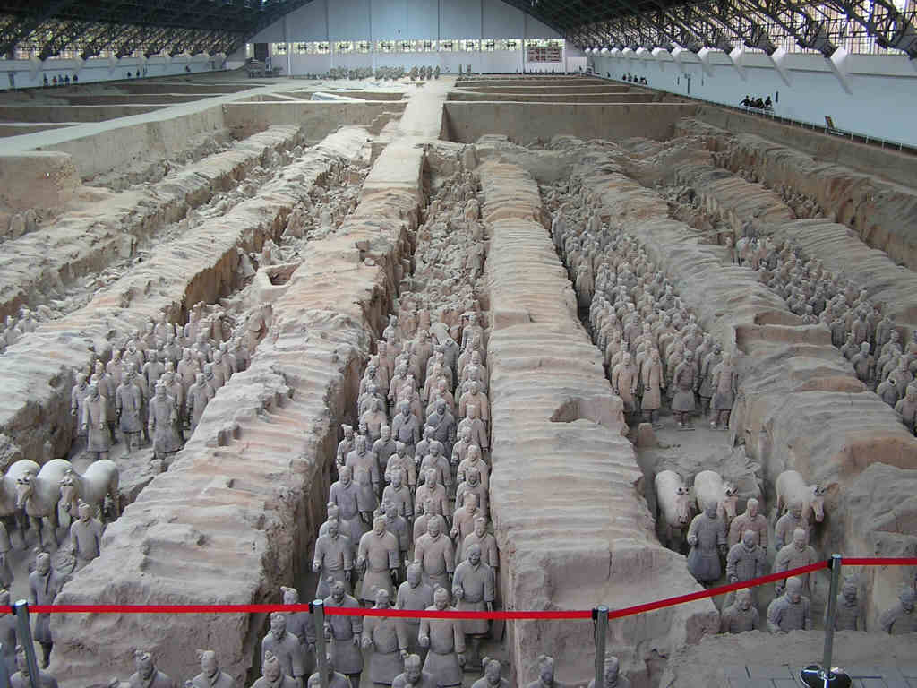 Terracotta army xian zpsajzxmfnh - Çin Yeraltı Heykel Ordusu (Terracotta Army)