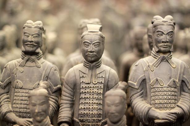 Çin Yeraltı Heykel Ordusu (Terracotta Army)