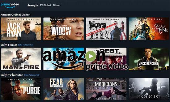 Amazon Prime Video'nun Türkçe Dublaj ve Türkçe Altyazılı Dizi-Film Arşivi!