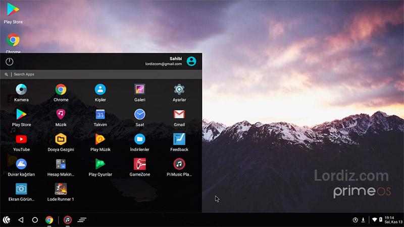 Windows Yüklü Bilgisayara PrimeOS Android İşletim Sistemi Yüklemek! - linux, google-play