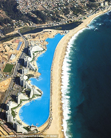 Dünyanın En Büyük Havuzu Şili'de - basin-medya