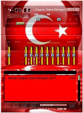 Ücretsiz Winamp Temaları ve Winamp Türk Bayrağı Teması - download-yazilari