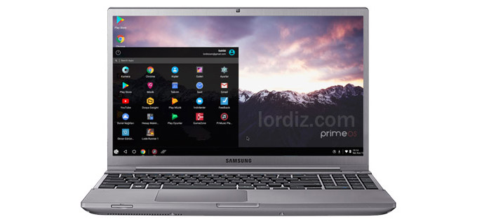 Windows Yüklü Bilgisayara PrimeOS Android İşletim Sistemi Yüklemek!