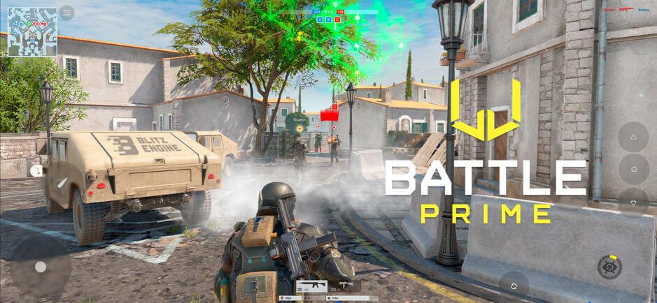 """Blitz Engine Oyun Motoru ile Geliştirilen Mobil Oyun """"Battle Prime"""""""