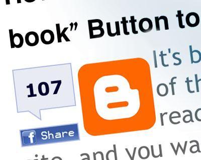 Blogger (Blogspot) İçin Facebook ve Twitter Paylaş Butonu - web-master