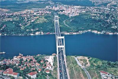 bogaz - İstanbul İlçelerinin İsimleri Nereden Geliyor?