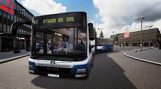 Bus Simulator 18 için Ankara EGO Otobüs Modu - oyun-indir