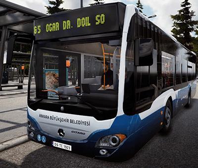 Bus Simulator 18 için Ankara EGO Otobüs Modu