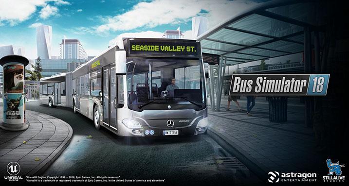 "En İyi Otobüs Simülasyon Oyunu ""Bus Simulator 18"""