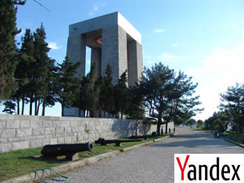 Yandex Panorama ile Çanakkale Şehitliklerine Sanal Tur