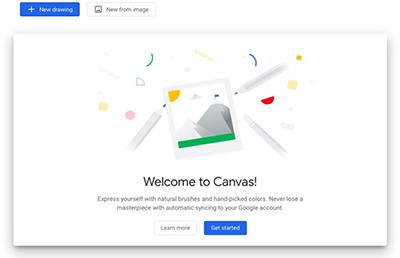 """Google'dan Basit Çizim Uygulaması """"Chrome Canvas"""""""