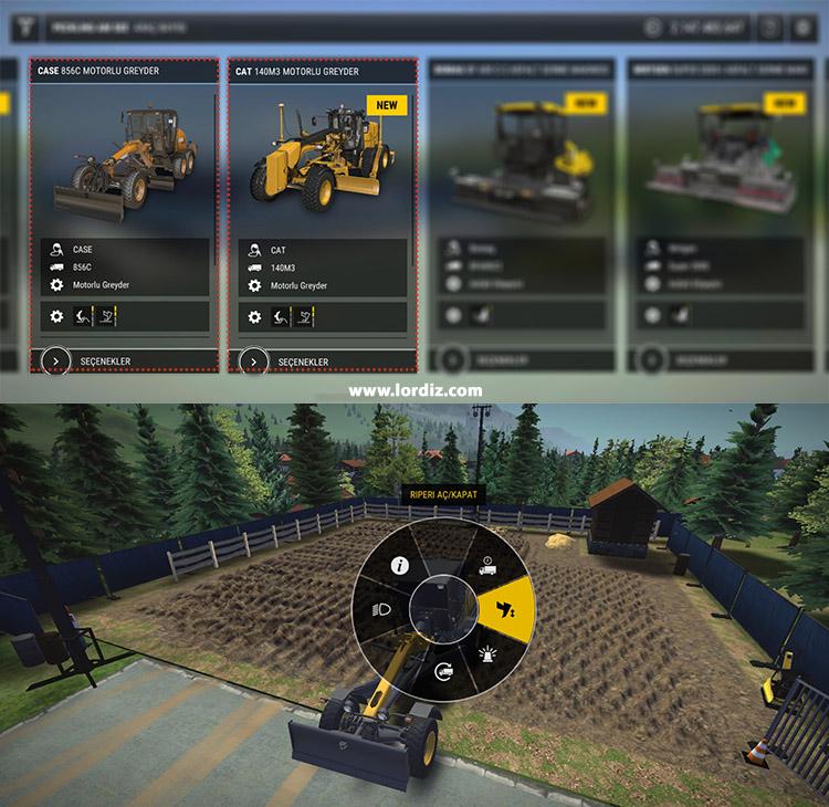 """construction simulator3 sok arac tipi - İnşaat Simülasyon Oyunu """"Construction Simulator 3"""""""