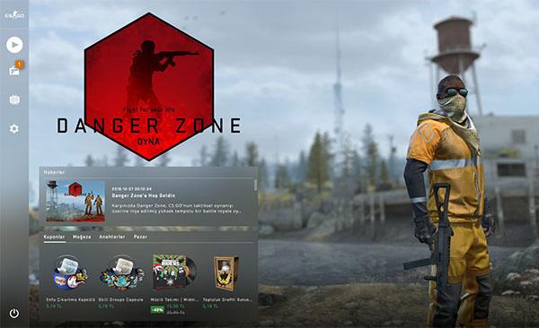 Ücretsiz Olan CS: GO'ya Danger Zone Battle Royale Modu Geldi!