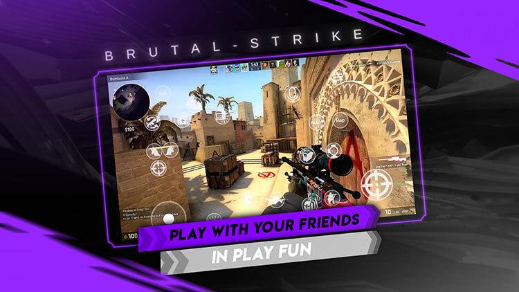 "cs16 counterstrike mobile brutal strike - Gelmiş Geçmiş En İyi Counter Strike Uyarlaması ""Brutal Strike"""