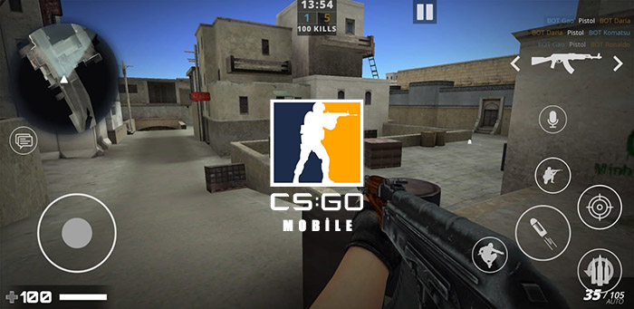csgo mobile - Counter Strike: Global Offensive (CS:GO) Mobile, Android Cihazlara Geliyor!