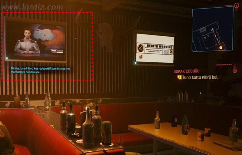 cyberpunk 2077 turkiye haritasi kum firtinasi - Cyberpunk 2077'de Türkçe Çeviri Krizi ve Tartışmalı Türkiye Haritası