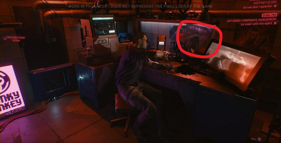 cyberpunk2077 nolife3 - Cyberpunk 2077'de Half Life 3 Göndermesi!