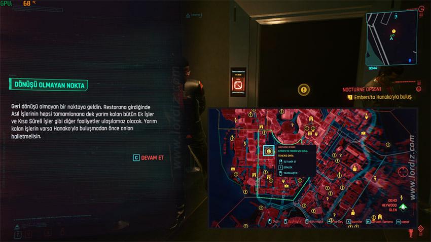 cyberpunk2077 son ana gorev - Cyberpunk 2077'de Ana Hikaye Bittikten Sonra Açık Dünyaya Dönmek?