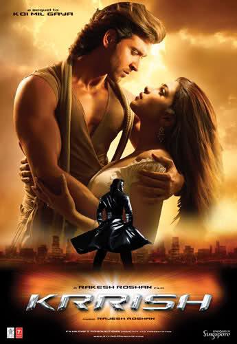Süper Kahraman Krrish ve Sevgilisi Priya