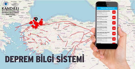 Kandilli Rasathanesi Deprem Takip Uygulaması ile Son Depremler Cebinizde!