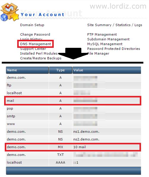 Direct Admin Panele Yandex Mx Kaydı Ekleme - web-master