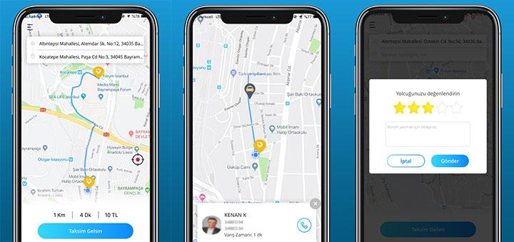 """Uber Alternatifi Mobil Taksi Çağırma Uygulaması """"En Taksi İzmir"""" - cep-telefonu-teknoloji-haber"""