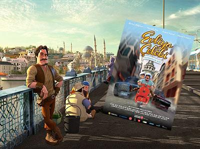 """Türkiye'nin İlk 3D Animasyon Filmi """"Evliya Çelebi ve Ölümsüzlük Suyu"""""""