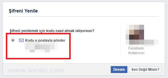 facebook sms sifre sifirlama1 - Facebook için Sms ile Şifre Sıfırlamayı Etkinleştirme