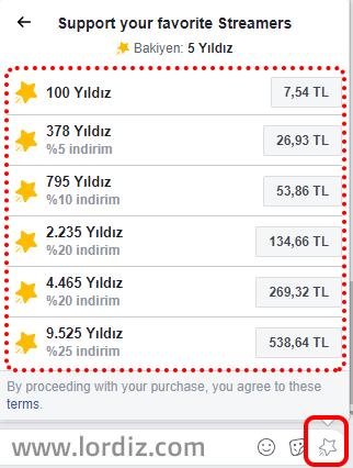 facebook yildiz kazanma satin alma1 - Facebook'da Bedava Yıldız Kazanma ve Yıldız Satın Alma!