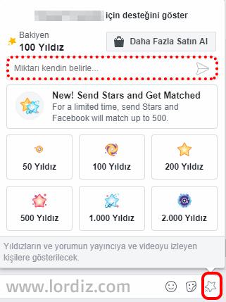 facebook yildiz kazanma satin alma3 - Facebook'da Bedava Yıldız Kazanma ve Yıldız Satın Alma!