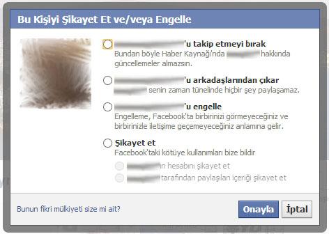 Facebookta Kişi Engelleme ve Engel Kaldırma - internet-siteleri