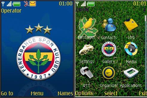 fenerbahce temasi zpsfyxboo7z - Eski Nokia'lar İçin Beşiktaş, Galatasaray, Fenerbahçe Teması